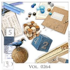 Vol. 0264 School Mix by D's Design