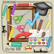 CU Vol 535 School Stuff by Lemur Designs