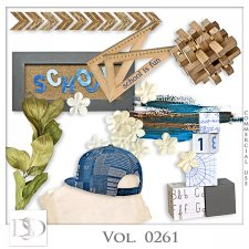 Vol. 0261 School Mix by D's Design