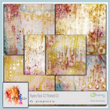 Papers Vol. 127 Painted EXCLUSIVE bymurielle
