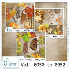 Vol. 0050 to 0052 - Autumn Mix by Doudou's Design