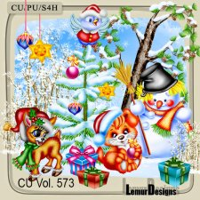 CU Vol 573 Christmas by Lemur Designs