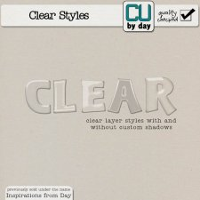 Clear Styles