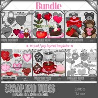 Valentine Mix Templates Bundle (CU4CU)