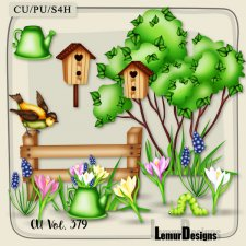 CU Vol. 379 Spring Garden Summer by Lemur Designs