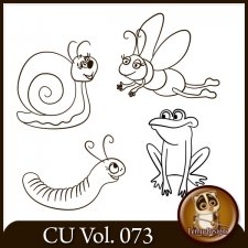 CU Vol. 073 Doodles Insects Animals by Lemur Designs