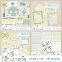 Choo-Choo Train Bundle by Kim Cameron