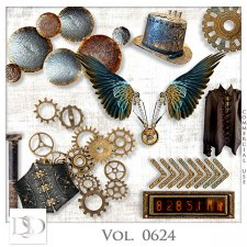 Vol. 0624 Steampunk Mix by D's Design