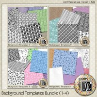 Background Templates Bundle (1-4) CU
