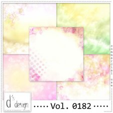 Vol. 0182 Spring Papers by Doudou Design