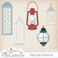 Nautical Lanterns by Kim Cameron
