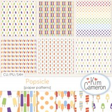Popsicle Patterns by Kim Cameron