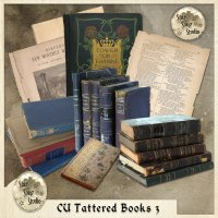 CU Tattered Books 3 by StarSongStudio