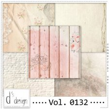 Vol. 0132 Vintage papers by Doudou's Design