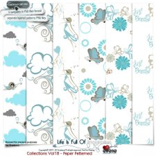 Collections Vol 18-Paper Patterned by Eirene Designs