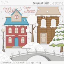 Winter Time Elements (CU4CU) by Scrap and Tubes