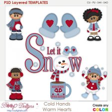 Cold Hands Warm Hearts Layered Element Templates