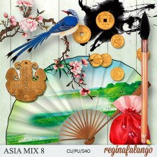 Asia Mix 8 by Reginafalango