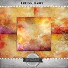 Autumn papers pack by Graphic Creations