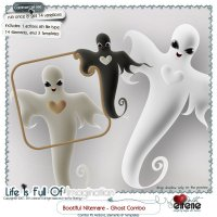Bootiful Nitemare-Ghost Combo: Actions, Templates, Shape & Embellishments