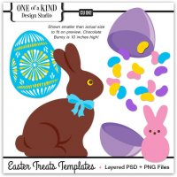 Easter Treats Layered Templates