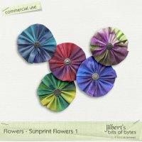 Flowers - Sunprint Flowers 1
