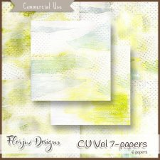 CU Vol 7 - Papers by Florju Designs