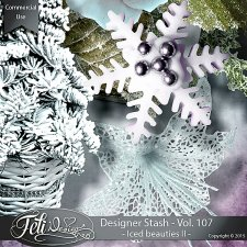 Designer Stash Vol 107 Iced Beauties II - by Feli Designs