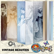 Vintage Beauties Papers