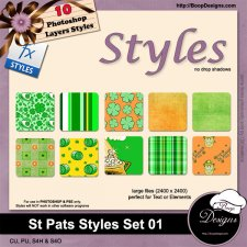 St Pats STYLES 01 by Boop Designs