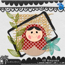 Matyoska Layered Template by Peek a Boo Designs