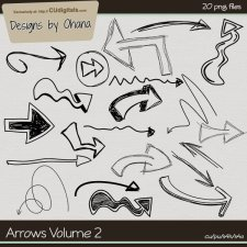 Arrows Doodles Volume 2 by Ohana Designs