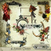 G&T DESIGNS AUTUMN CLUSTERS