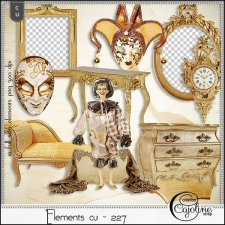 Elements CU - 227 Baroque & Rococo furnishing by Cajoline-Scrap