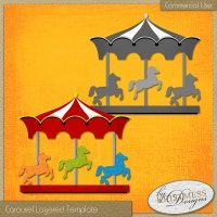 Carousel Layered Template