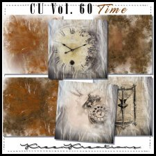 CU Vol. 60 Papers Pack Time by Kreen Kreations