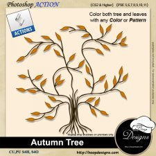 Autumn Tree by Boop Designs
