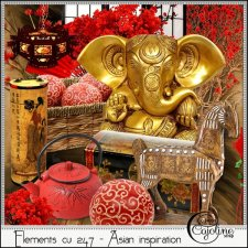 Elements CU - 247 Asian inspiration by Cajoline-Scrap
