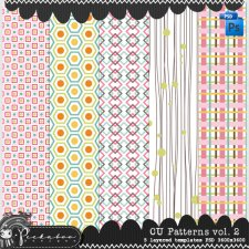 Pattern Templates vol 2 by Peek a Boo Designs