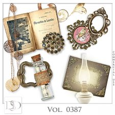 Vol. 0387 Vintage Mix by D's Design