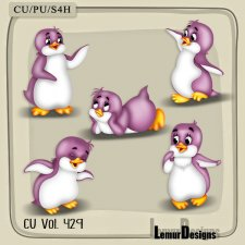 CU Vol 429 Penguins by Lemur Designs