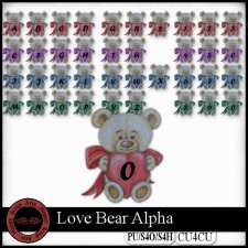 Love Bear Alpha CU4CU