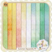 Summer Aquarella Papers by Papierstudio Silke