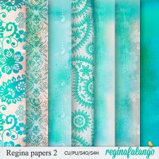 REGINA PAPERS 2 ORIENTAL by reginafalango