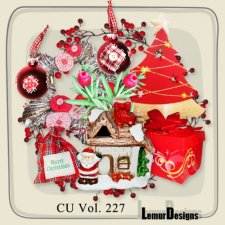Cudigitals new cu vol 227 christmas deco by lemur designs - Deco vol ...