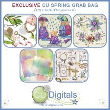 CU EXCLUSIVE SPRING Scrap Grab Bag