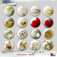 Hunny Bunny Buttons