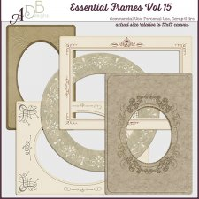 Essential Frames Vol 15 by ADB Designs