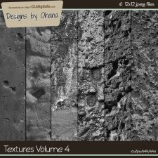 Paper Textures Vol 4 - EXCLUSIVE Designs by Ohana