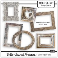 White Washed Frames - Collection One